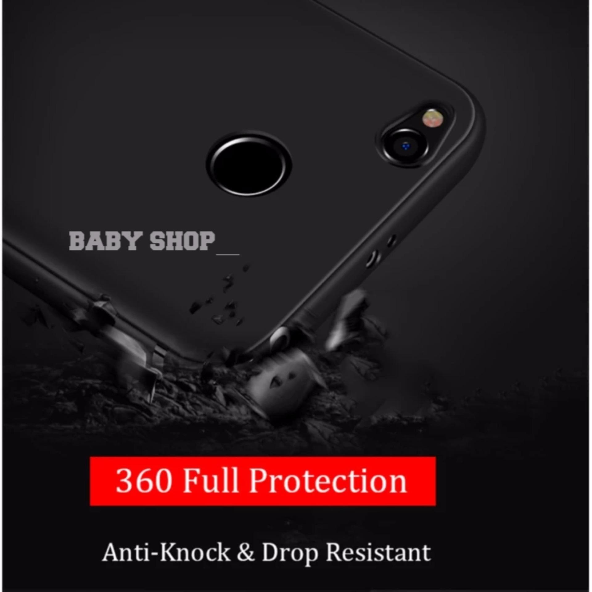 Delkin Hard Case for Xiaomi Redmi 4X Free Tempered Glass