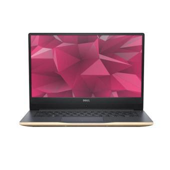 """Dell Inspiron 14 7460 Notebook - Gold [I7-7500U / 8GB DDR4 / 1TB+128GB SSD / GT940MX 2GB / Win10 / 14"""" FHD]"""