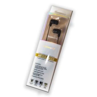 Gambar Diamond Handfree Earphone Megabass Black