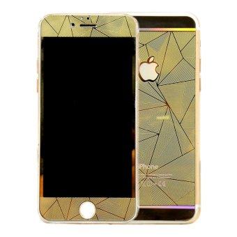 Diamond Tempered Glass Diamond for I-Phone 4G - Gold