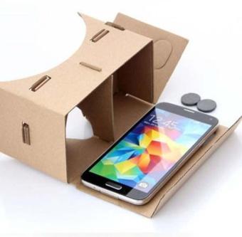 DIY Cardboard Quality 3D Vr Virtual Reality Glasses For Google -intl