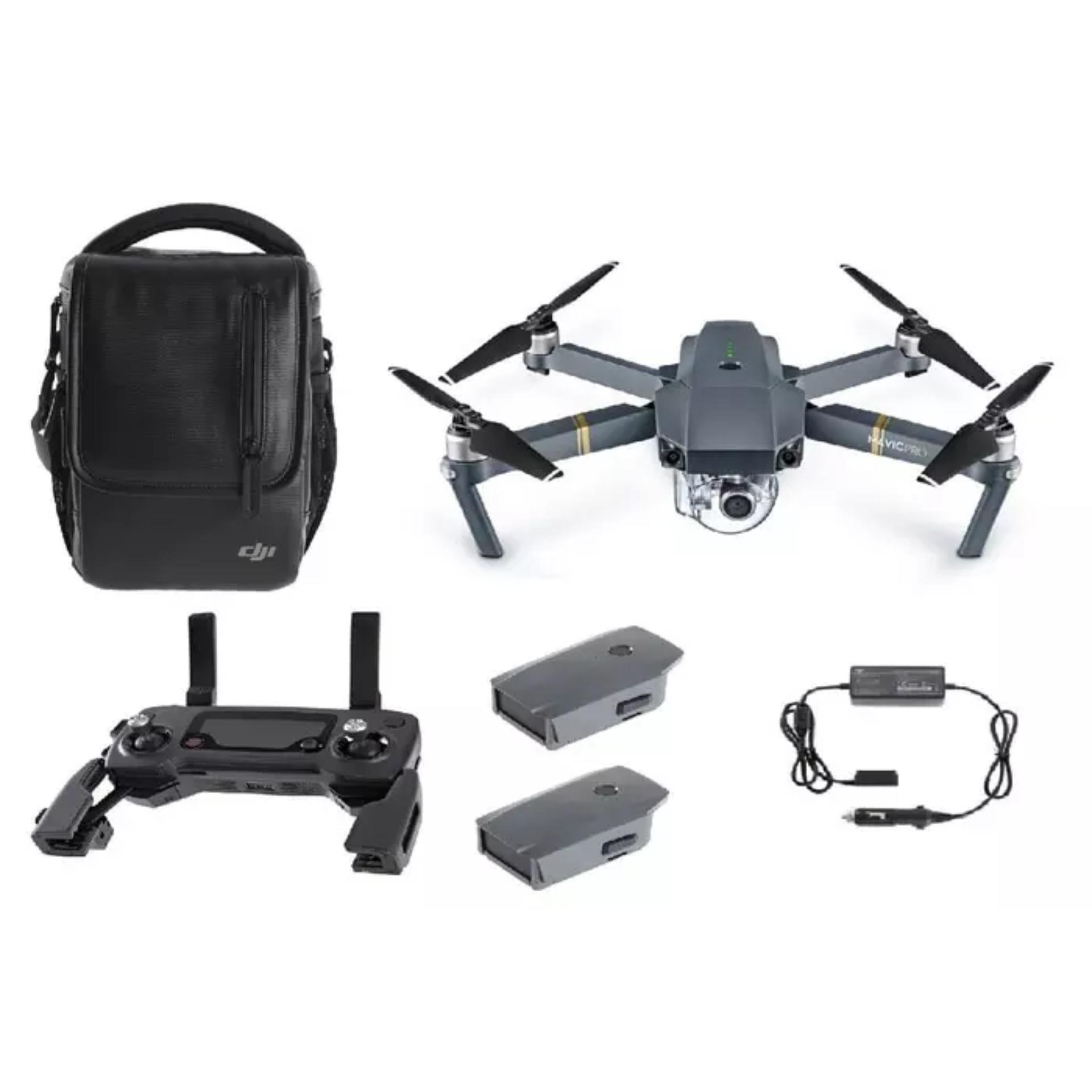 Perbandingan Harga Dji Mavic Pro Combo Drone Quadcopter Total 3 Fly More Battery Mavicpro