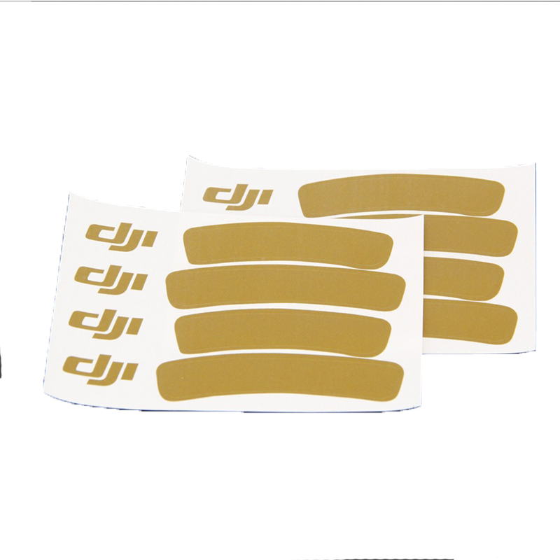 DJI Phantom 3 2 Vision+ RC Quadcopter Decal Skin Decoration Strip(Gold)