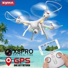 Drone Profesional SYMA X8 PRO GPS Drone dengan kamera Wifi HD FPV2.4G 4CH