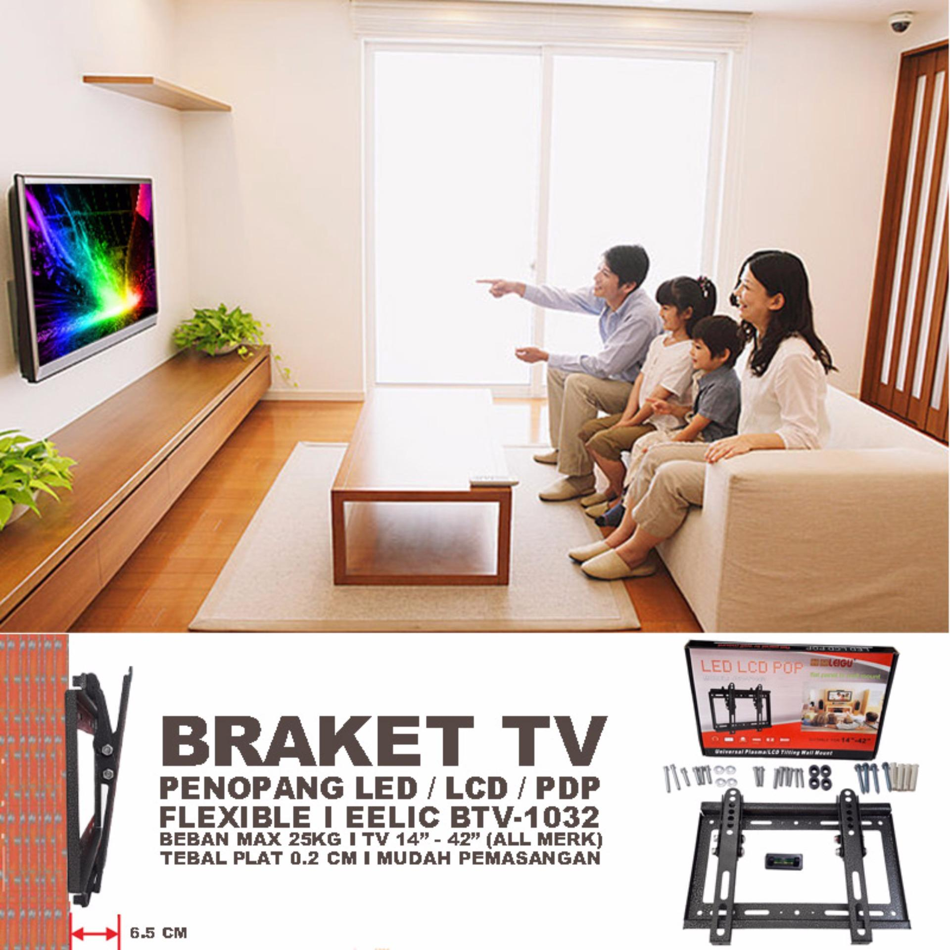 Wall Bracket Braket Breket Tv Universal 24 60 Adjustable With Water Tidy Tdw206sfn Eelic Brt Jd1442 Led 14