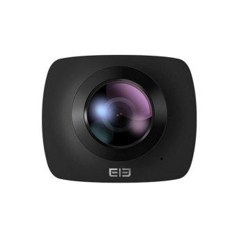 Elephone Elecam 360 Video Camera 360 Degrees Panorama Camera Action Camera - Black + Gratis tripod