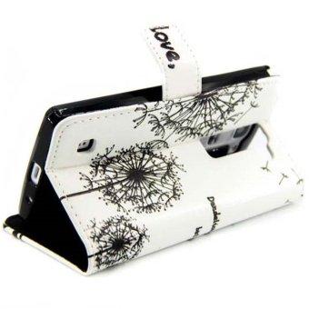 Embossed Leather Wallet Case for LG Magna H502F H500F / G4c H525N (Multicolor) - intl