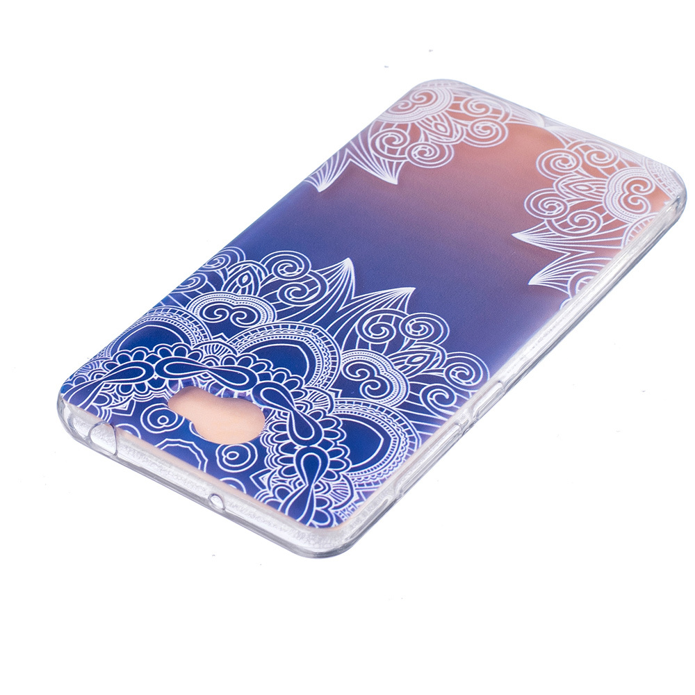 Embossing TPU Cover Case for Huawei Y5II / Y5 II / Honor 5 - Unique Flowers ...
