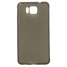 Emco for Samsung Galaxy Alpha Pudding Soft Mercury Jelly Case - Abu-Abu