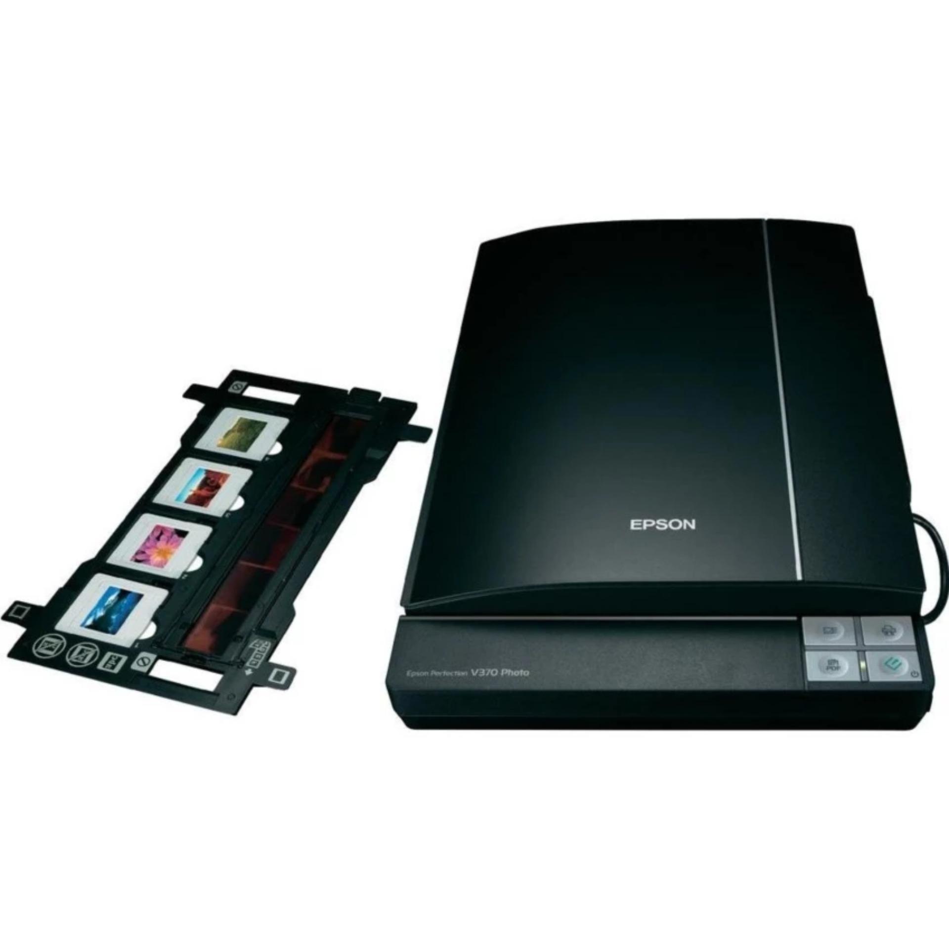Epson Printer Scanner Perfection V370 A4 - Hitam ...