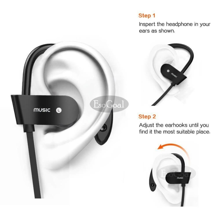 ... Telinga Headphone Stereo Headset Dengan Mikrofon Pita Penahan . Source · Stereo Headset Super Bass Earphone Tahan Air Biru Daftar Harga. Source ·