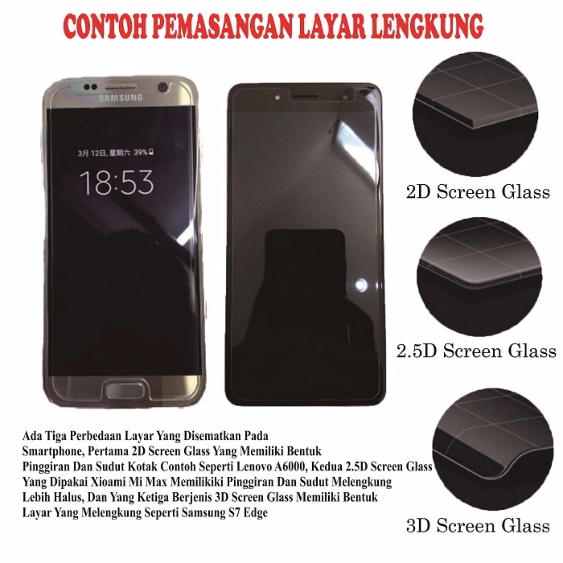 Evercoss GenPro X Tempered Glass Screen Protector 0 32mm AntiCrash Film Bening
