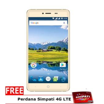 "Evercoss U55 Winner Y Smart Plus 5'5"" - 1GB/8GB - Gold"