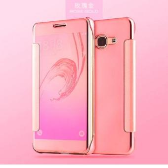 Pencarian Termurah Executive Chanel Case Samsung Galaxy J7 Prime Flipcase Flip Mirror Cover S View Transparan Auto Lock Casing Hp- ROSE GOLD Harga Penawaran