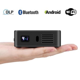 Exquizon E05 Pocket Airplay Miracast Projector For Ios &Android Dlp 1g+8g(Silver) - intl - 3