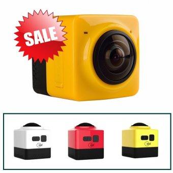 Eyoyo Cube Kamera 360 Panorama Camera - Kuning - 2