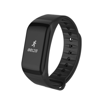 F1s IP66 Bluetooth 4.0 Wristband Smart Watch Heart Rate Monitor Blood Pressure Blood Oxygen Tracker Sleep monitor Pedometer Smart Bracelet For IOS And Android - intl