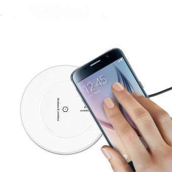 Fantasy Wireless Charger + Universal Micro USB Receiver - Putih