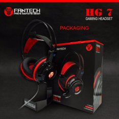 Fantech Headset Gaming HG7 - Visage - Black/Red