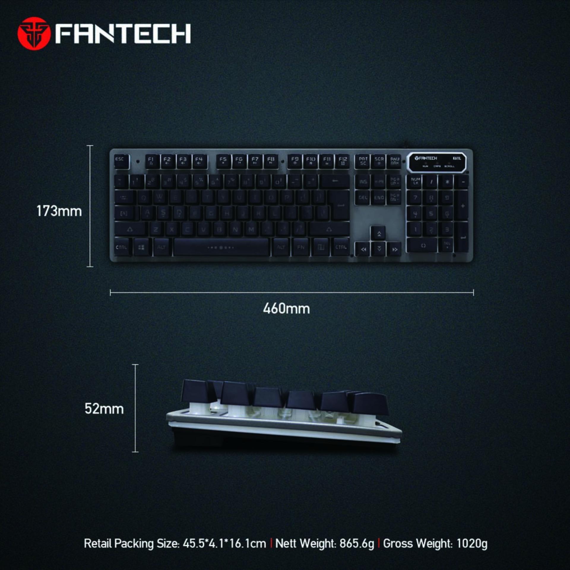 Fantech Keyboard Dan Mouse Wireless Wk 890 Hitam Daftar Harga Gaming  Logitech M170 Source K611l