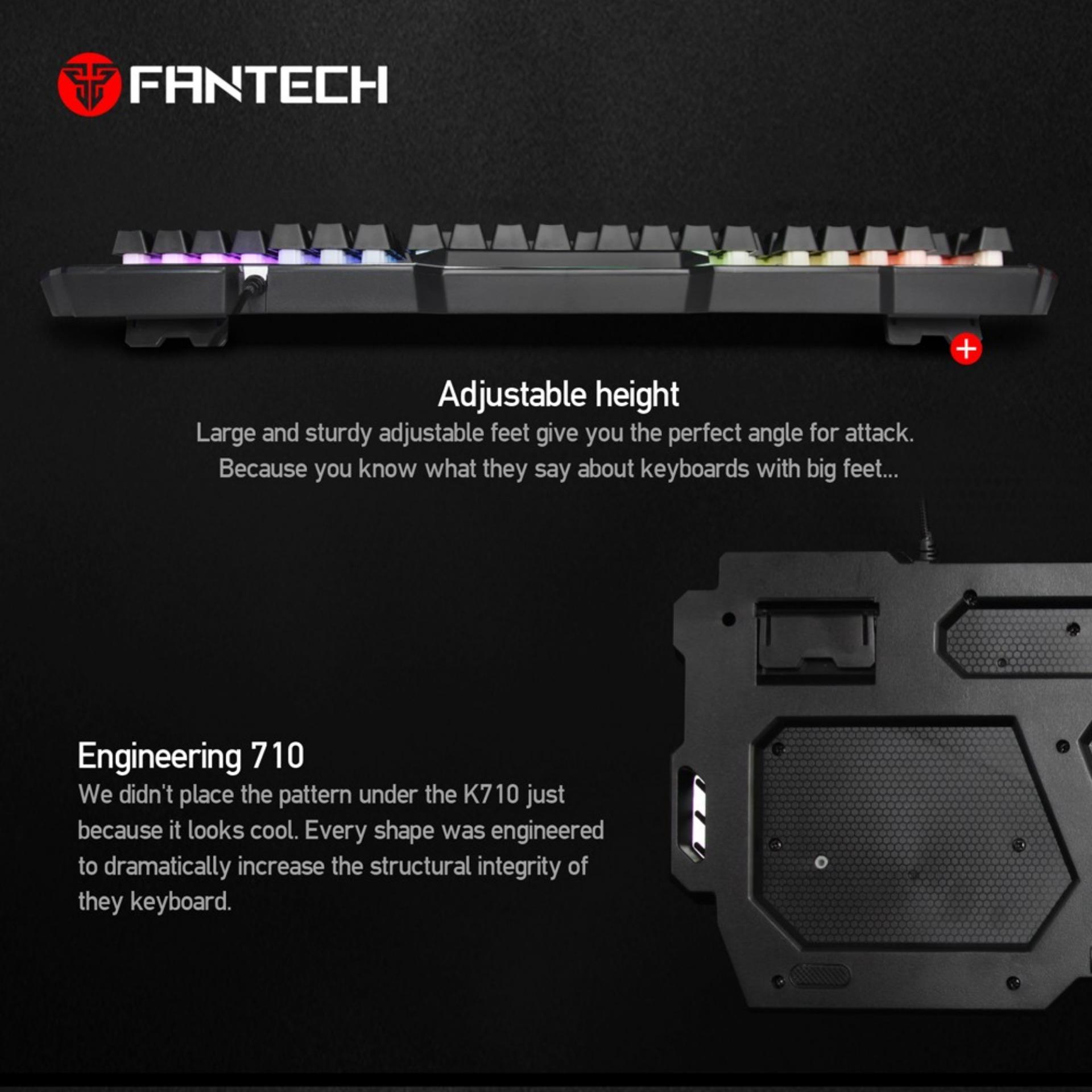 Harga Saya Fantech Keyboard Semi Mechanical K710 Bandingkan Toko Predator Mt K9340 Gaming