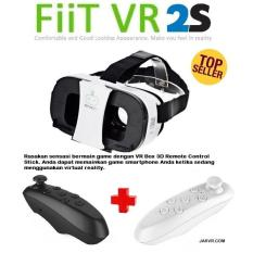 FIIT VR 2S With Remote Controller Virtual Reality HD 3D Glasses