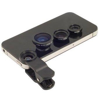 harga Fish Eye Lensa 3in1 Untuk Sony Experia Z2 Compact - Hitam Lazada.co.id