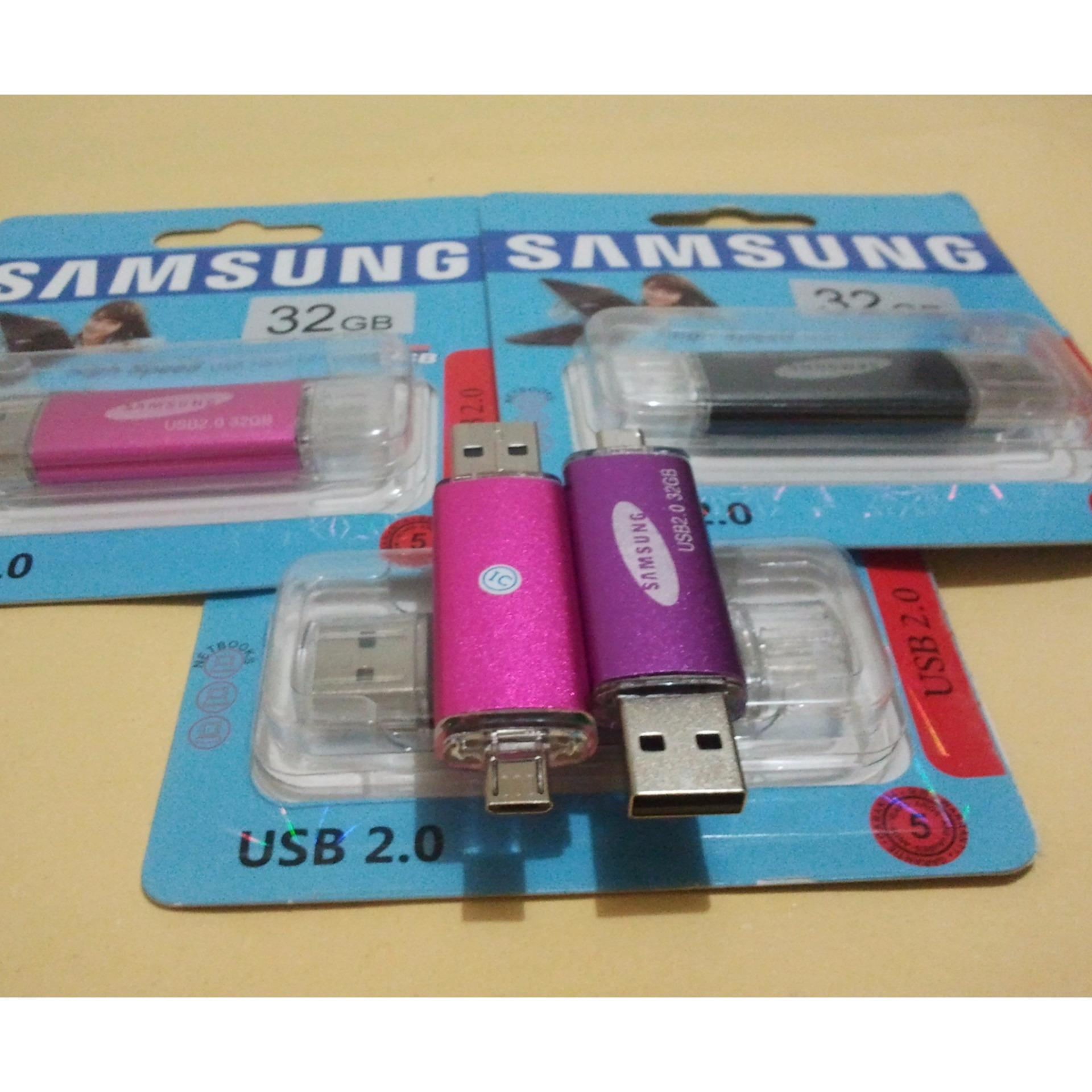 Kingston Flashdisk Otg Dtduo32gb Data Traveler Micro Duo 32gb Coklat Vgen Flasdisk Samsung