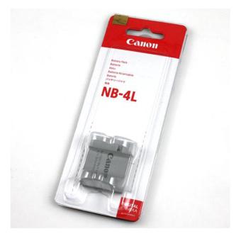Detail Gambar Focus Baterai NB-4L For Canon - abu abu dan Variasi Modelnya