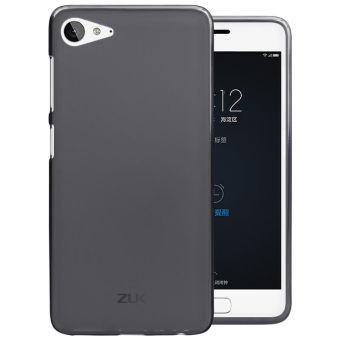 For Lenovo ZUK Z2 Phone Case Clear Transparent soft TPU Crystal GelSilicone back cover case(Black) - intl