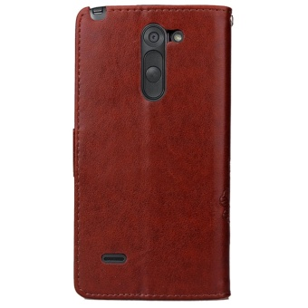 ... for LG G3 Stylus Case Cover - Classic Fashion Style Wallet FlipStand PU Leather Phone Case ...