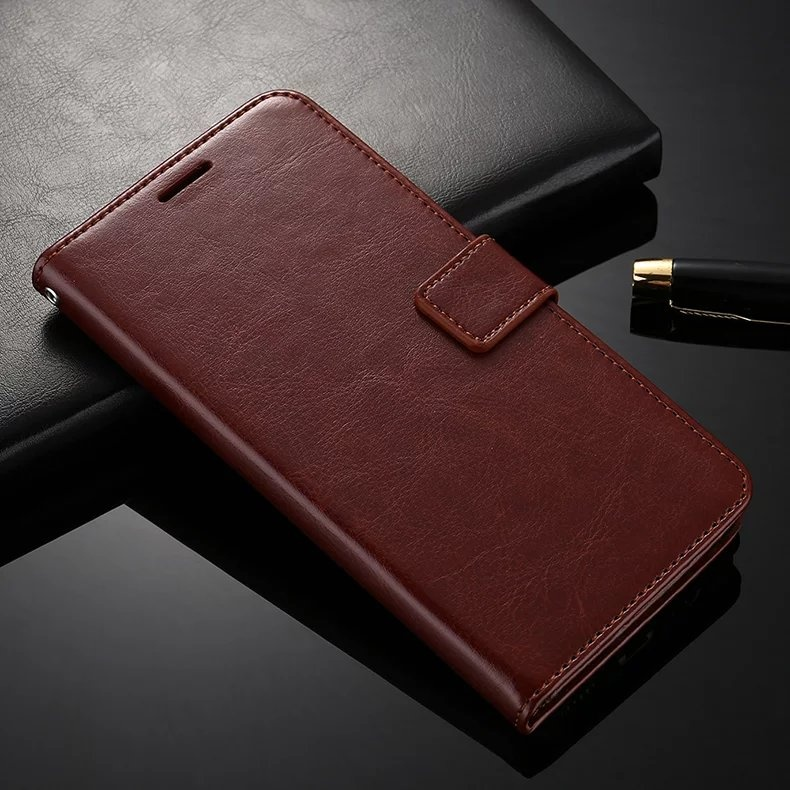 For OPPO R9S Leather Case Wallet Ultra Thin Card Holder Phone Case For OPPO R9S Flip