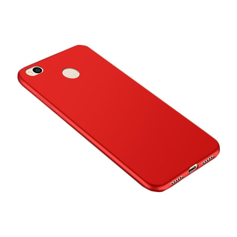 ... For Redmi 4X Soft Silicone Phone Case/ Sweatproof Fingerprint-proofProtective Back Cover for Xiaomi ...