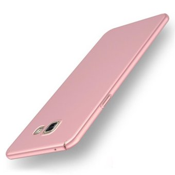 For Samsung Galaxy A5 (2016) A510 Full Body Hard PC Smooth Grip Back Case Cover (Rose Gold) - intl