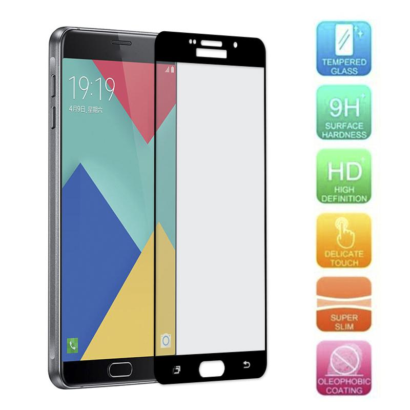 ... For Samsung Galaxy A9 Pro A9000 A9100 Premium Full 2 5D Cover 0 3