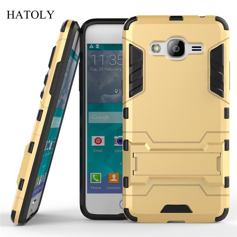 Harga Baru For Samsung Galaxy J2 Prime Case Robot Armor Case Hybrid