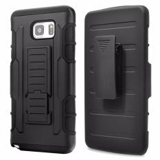 for Samsung Galaxy Note 5 [Military protection] GuluGuru Heavy DutyArmor Belt Clip Holster With