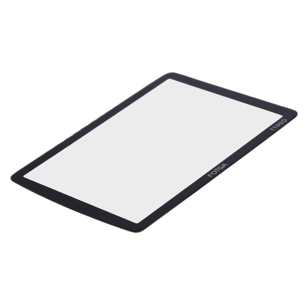 Fotga Optical Glass LCD Screen Protector Film for Canon EOS 1100DRebel T3 -