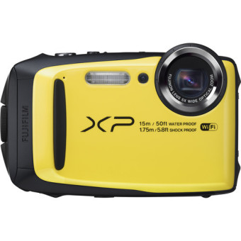 Fujifilm FinePix XP90 Digital Camera (Yellow) - intl