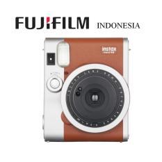 Fujifilm Kamera Instax Mini 90 Camera Polaroid Garansi Resmi Indonesia - Cokelat