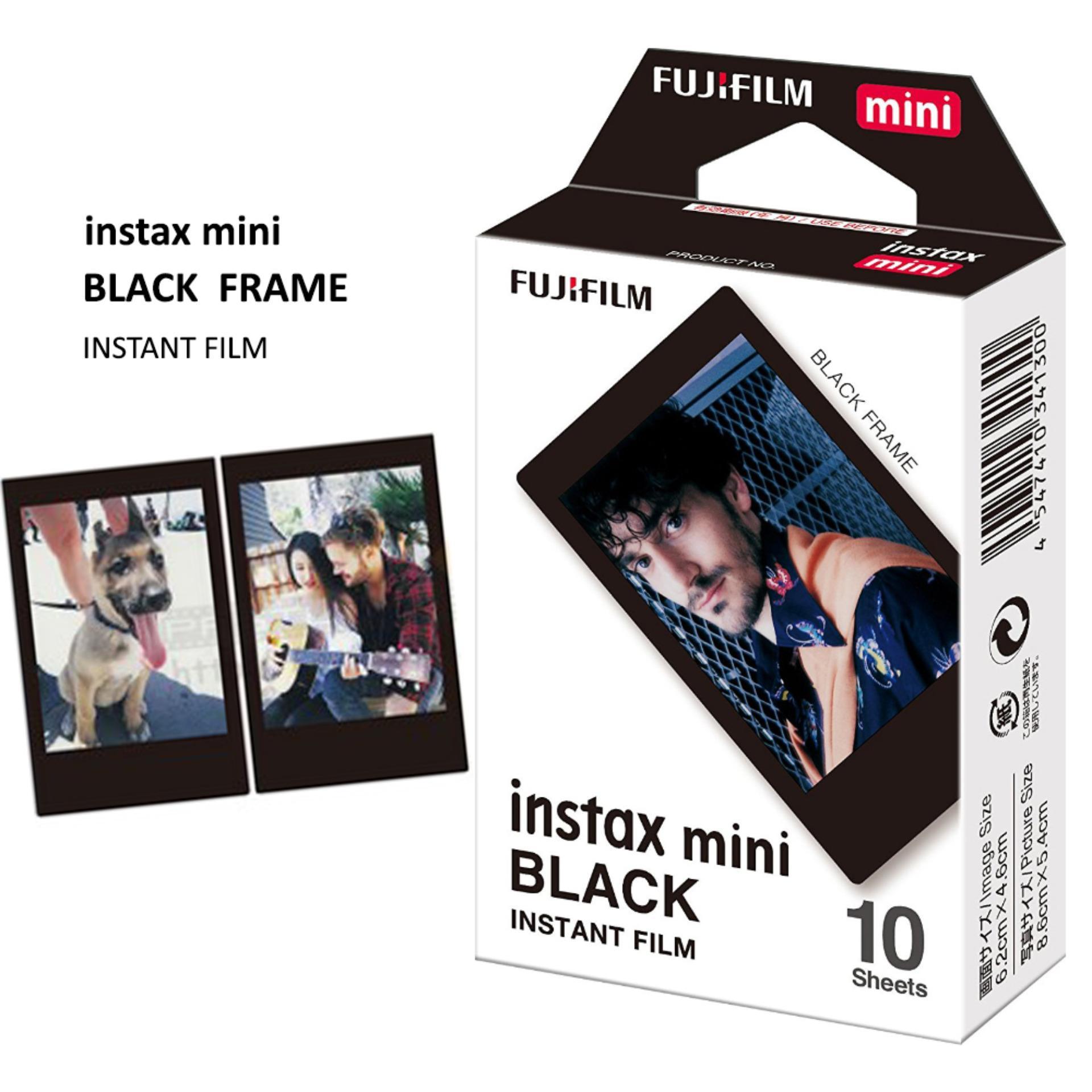 Fujifilm Refill Instax Mini Black Frame Film - Hitam
