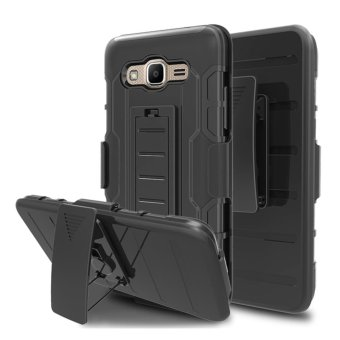 Galaxy J5 Case,Full Body Heavy Duty Protection Shock AbsorbingLocking Mechanism Holster Clip Cover For