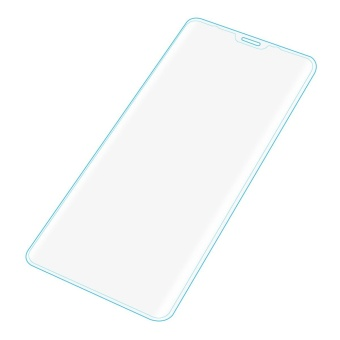 Full Screen Cover Skin Tempered Glass Film 3D Protector For Samsung Galaxy Note8 Clear - intl