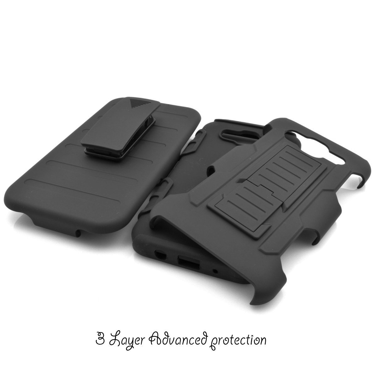 Galaxy J5 Case,Full Body Heavy Duty Protection Shock AbsorbingLocking Mechanism Holster Clip Cover For ...