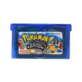 Game Card For Pokemon BLUE SEAS Version Game Boy GameBoy AdvanceGBA Game Gift - intl
