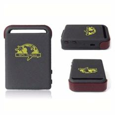Global Smallest GPS Tracking Device GSM/GPRS/GPS Tracker - TK102-2 - Black