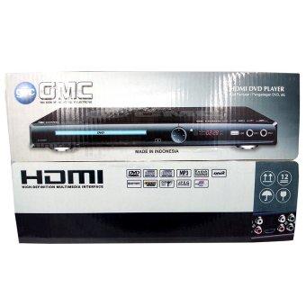 GMC BM-088A DVD Player HDMI 5.1 - Hitam - 3