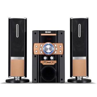 GMC Multimedia Aktif Speaker 885S - Emas / Gold ...