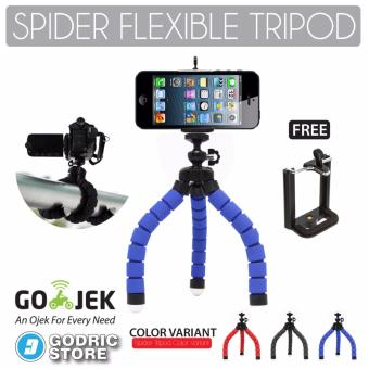Godric Spider Mini Flexible Tripod with Holder U for