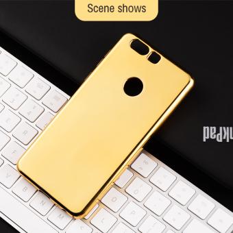 Gold Mirror Case Untuk Vivo X7 Plus X6 Plus Lembut Batal Tutup